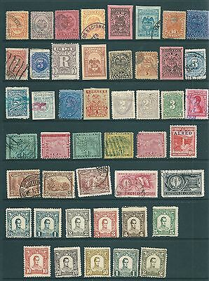 COLOMBIA - A vintage collection of stamps from the 19th Century onwards