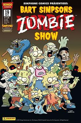 Bart Simpsons Horror Show # 19 + Xl-Poster - Panini Comics 20015 - Top