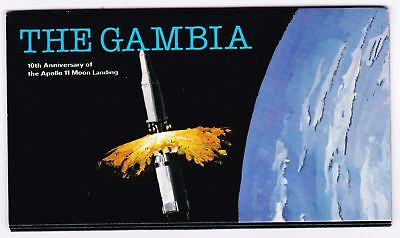 Gambia 1979 Apollo 11 Moon Landing Self-adhesive Stamp Booklet