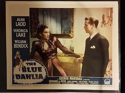 Veronica Lake Alan Ladd 1946 PHOTO Lobby Card THE BLUE DAHLIA Paramount Pictures