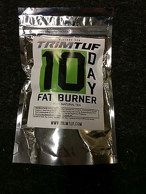 Trimtuf 10 Day Fat Burner Slimming Tea  Weight Loss Aid Diet Mens 100% Natural
