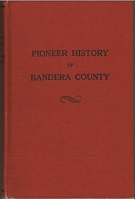 1970 Bandera County, Texas Local History and Genealogy by J. Marvin Hunter HB