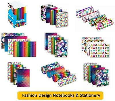 FASHION DESIGN NOTEBOOKS & STATIONERY - A4/A5/A6 Notebooks / Pencil Case {Tiger}