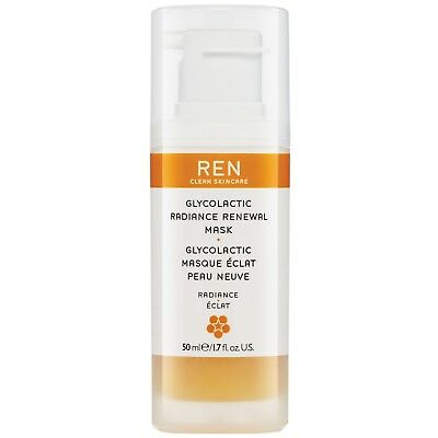 REN Clean Skincare Face Glycolactic Radiance Renewal Mask 50ml for women