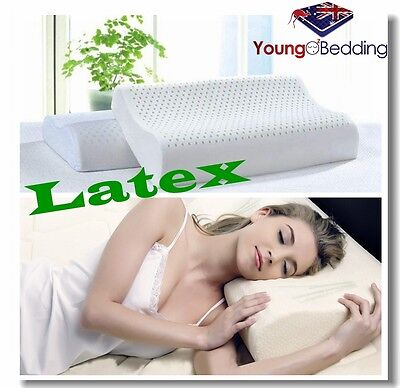 2 pcs * 100% Natural Latex Pillow w/ Air Flow + 100% Quality Guaranteed !