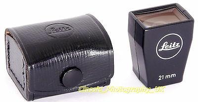 LEICA 21mm Bright Line Finder Leitz SBKOO / 12012 for Elmarit-M 21mm f/2.8 Lens