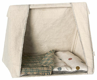 Maileg Happy Camper - Mouse Family Tent With Bedding - For Maileg Mouse
