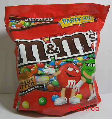 (1kg = 23,20 €) M&M´s PEANUT BUTTER im party size bag +++ 1077,3 gr  +++