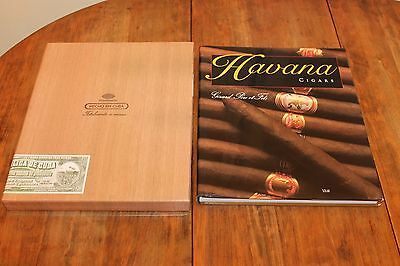 SIGNED Havana Cigars (Hardcover) Solar 1996. by Gerard Pere Et Fils (Author)