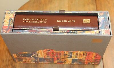 Ronnie Wood HOW CAN IT BE? A ROCK & ROLL DIARY review copy/collector ed 2015