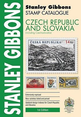 STANLEY GIBBONS - STAMP CATALOGUE -  CZECH REPUBLIC & SLOVAKIA CATALOGUE 1st Ed.