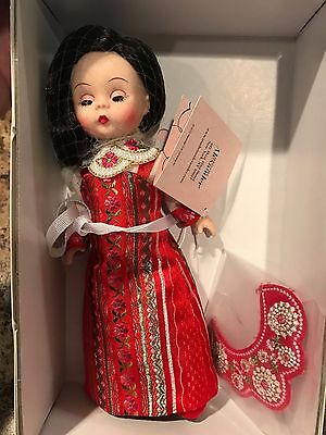 "Madame Alexander Doll 8"" With Love From Russia 64510 NRFB Retired"