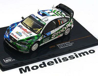 1:43 Ixo Ford Focus WRC #7, Rally Sweden Galli/Bernacchini 2008