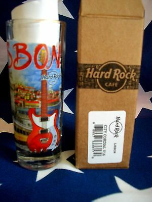 HRC Hard Rock Cafe Lisbon Lissabon City Tee V16 Shot Glass Schnapsglas New