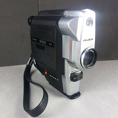 Fujica Single-8 P2 Movie Cine Camera 8mm + Fujinon 11.5mm f/1,8 lens