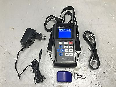 CCTV Tester Pro Digital TFT LCD Monitor Security Camera / Tester