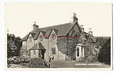 Scotland Lochearnhead Mansewood Real Photo Vintage Postcard 29.3