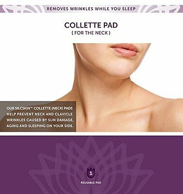 Neck Pad Prevent & Correct Clavicle Wrinkles 100% Medical Grade Silicone 1 Pack