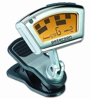 StroboClip Clip-on Strobe Tuner For Wide Variety Of String And Wind Instruments