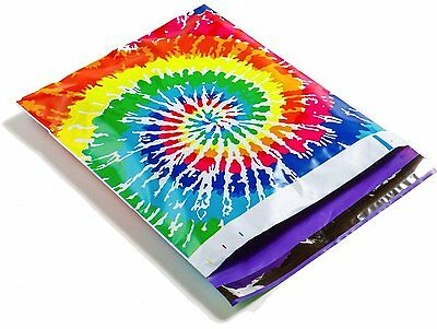 1000 10x13 Tie Dye Designer Mailers Poly Shipping Envelopes Boutique Bags