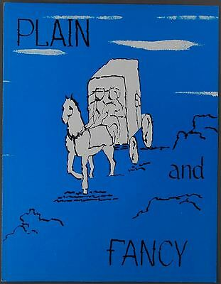 KENLEY PLAYERS OHIO Plain and Fancy PETER MARSHALL 1970