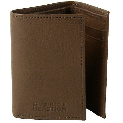 Kenneth Cole REACTION Men's Genuine Leather Trifold Wallet
