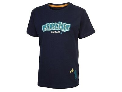 Elkline Spray On Kinder Kurzarm Shirt T-Shirt blueshadow