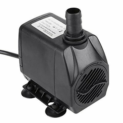 Water Pump 550 GPH for Indoor Outdoor Garden Fountain Pool Submersible Silent