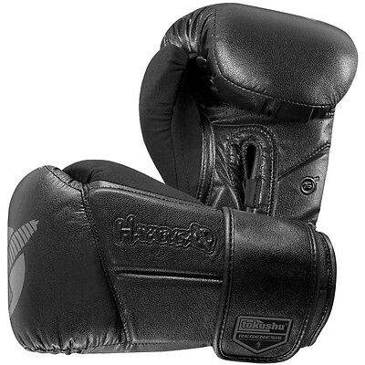 Hayabusa 16 oz Tokushu Regenesis Boxing Gloves - Black
