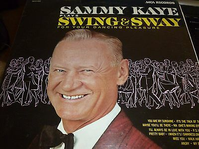 Sammy Kaye Plays Swing And Sway For Your Dancing Pleasure Vinyl LP MCA205 SEALED