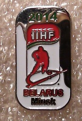 Official pin of the ice hockey World Championship, Belarus - 2014