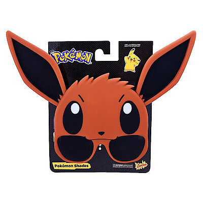 Eevee Sun Staches – Pokemon Sunstaches – Sunglasses – Sun Glasses fnt