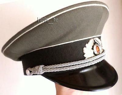 DDR 1978 NVA STASI Uniform Mütze Schirmmütze hat Gr. 56  East german officer hat