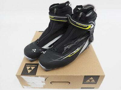 New! Fischer XC Control Zip Up Nordic Touring Ski Boots Size 43