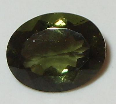 1.98ct Faceted TOP QUALITY Natural Czechoslovakia Moldavite Oval Cut 10x8mm