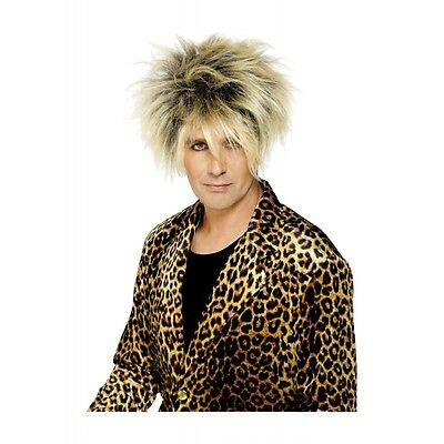 Rod Stewart Wig Adult Mens 80s Costume Accessory Fancy Dress