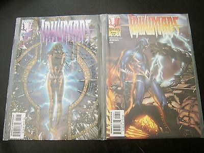 Marvel Comics: Marvel Knights Inhumans No.2 & 6 - 1998 series, Jae Lee art!