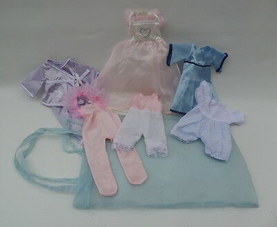 Clothes to Fit Angelina Ballerina 7 Pretty Items & Bag Bundle VGC
