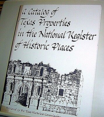A CATALOG OF TEXAS PROPERTIES IN NATIONAL REGISTER HISTORIC PLACES Architecture