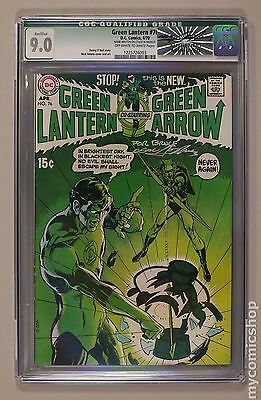 Green Lantern (1960-1988 1st Series DC) #76 CGC 9.0 QUALIFIED 1225726003