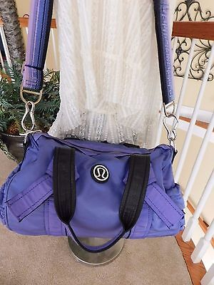 Lululemon DTB Duffle Gym Yoga Sport Bag Persian Purple