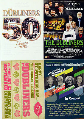 4 X Different Dubliners  Flyers - Irish Music Barney Mckenna