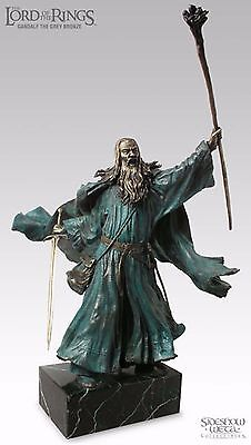 GANDALF THE GREY BRONZE Lord of the Rings SIDESHOW WETA Herr der Ringe SEIGNEUR