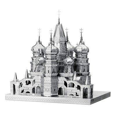 Fascinations IconX St. Basil Cathedral Model Kit Metal Earth