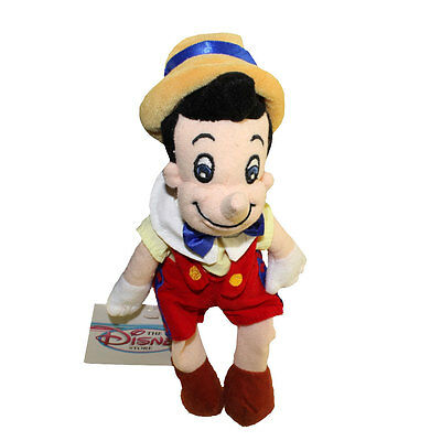 Disney Bean Bag Plush - PINOCCHIO (9 inch) - Mint with Tag