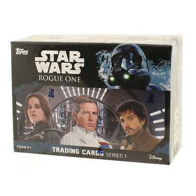 Topps Collectible Trading Cards - Star Wars: Rogue One Series 1 - BLASTER BOX