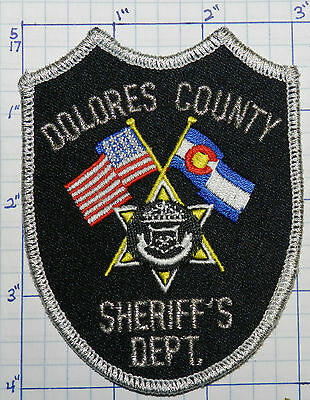Colorado, Dolores County Sheriff's Dept Patch