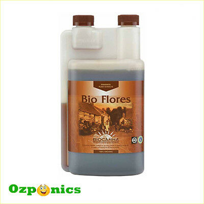 Canna Bio Flores | 250mL | Hydroponics Organic Bloom Stimulator Base Nutrients