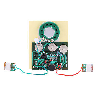 30s GREETING CARD RECORDABLE voice chip music sound talking musical module  DH