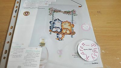Cross Stitch Chart Margaret Sherry Chart Cats On A Swing Chart Only